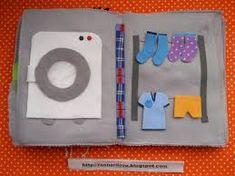 Resultado de imagem para livro sensorial em eva