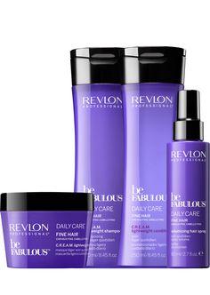 Revlon Professional be Fabulous Daily Care Fine Hair Family. Revlon Hair Products, Makeup Products, Beauty Products, Drugstore Makeup Dupes, Beauty Dupes, Natural Hair Care Tips, Natural Hair Growth, Etae Hair, Shampoo For Fine Hair