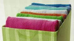 Текстильная коробка для хранения своими руками.   DIY ИЗ НЕНУЖНОГО НУЖНОЕ