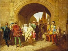 Margaret Tudor defies Parliament and refuses to hand over her young sons to the Duke of Albany. Having married, she had forfeited her right as Regent for her elder son, James V, King of Scotland. The Privy Council appointed John Stewart, 2nd Duke of Albany, then resident in France as Regent. He laid siege to Stirling Castle in 1515, and the pregnant Margaret gave up her two sons to Albany and fled to England to give birth to her daughter, Margaret Douglas, the future Countess of Lennox