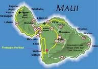 The island of maui