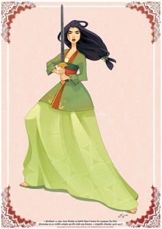 Mulan by AzureOcean on DeviantArt Disney Fan Art, Disney Pixar, Deco Disney, Disney Princess Art, Arte Disney, Disney Animation, Disney And Dreamworks, Disney Magic, Disney Characters