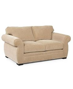 Westen Loveseat, Polyester - Couches & Sofas - Furniture - Macy's