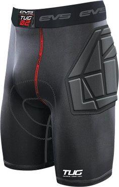 EVS Sports Unisex-Adult Tug Bottom Impact Short Black X-Large
