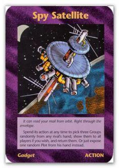 Illuminati Card Spy Satellies