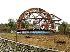 Transform a Geodesic Dome into a cozy home, restaurant or concert hall