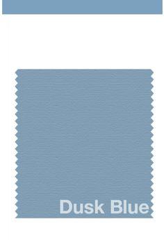 Color: azul atardecer