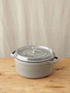 graphit grey, irons, meals, foods, staub, round cocott, grey round, matte black, homes