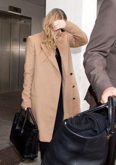 Ashley Olsen | Camel Coat