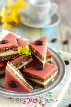Cream Cheese Flan, Desserts With Biscuits, No Salt Recipes, Mousse Cake, Sponge Cake, Marzipan, Cereal, Paleo, Food And Drink