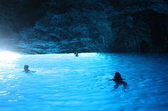 Natural Wonder-Blue Cave of Kastellorizo, Greece