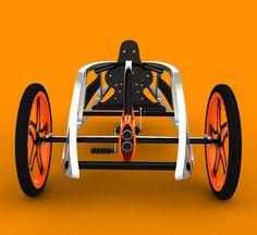 Urban Environment SEON Trike Design