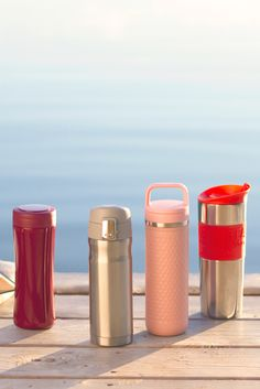 Prepare for adventure. With these sleek, leakproof travel mugs, steeping on the go has never been easier. Plus they'll keep your tea hot for hours on end!