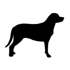 Greater Swiss Mountain Dog silhouette