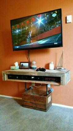 Saw this on Craigslist. A couple was moving and selling some beautiful furniture they made