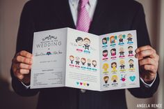 Identidades Criativas de Casamento