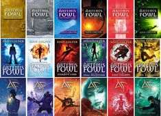 Artemis Fowl series... Very nice though I haven't read some of them