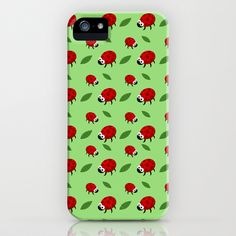 LADY BUGS iPhone Case by AnishaCreations - $35.00