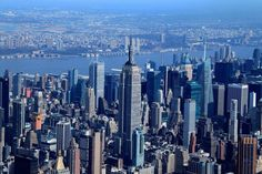 New York City view from a helicopter! More at www.travelswithtalek.com