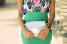J'aime la jupe verte...