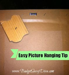 Easy Picture Hanging Tip