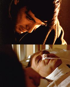 """""""Just lie here, Pop. I'll take care of you now. The Godfather The Godfather Saga, Godfather Part 1, Godfather Movie, The Best Films, Great Films, Good Movies, Corleone Family, Don Corleone, Young Al Pacino"""