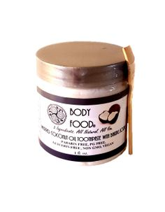 This one of a kind, all natural, 3 ingredient whipped toothpaste is nothing short of delicious. You and your whole family will love the salty, sweet brushing experience. Coconut oil, baking soda, and stevia make up this healthy alternative to commercial toothpastes filled with chemicals, and are all amazing for your teeth and gums. Make the transition today!