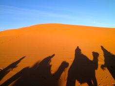 To the infinity and beyond.  Erfoud Desert, Morocco.