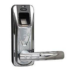 Now this is security!  A fingerprint that unlocks your door.