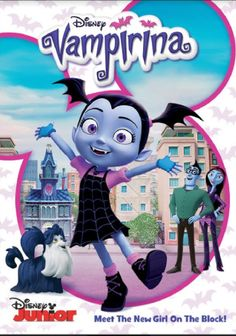 With Halloween approaching, Disney are set to release a new DVD featuring episodes of Vampirina on October VAMPIRINA is the new ghoul in town, and [. Disney Jr, Disney Junior, Walt Disney, Giada De Laurentiis, Brian Stokes Mitchell, Pennsylvania, Cree Summer, Palace Pets, Lauren Graham
