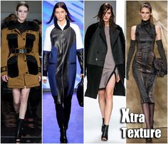 Fall 2013 -2014 Trends   New York Fashion Week Fall 2013 Trends: Mixed fabric textures Jason Wu ...MIXED FABRIC TEXTURES