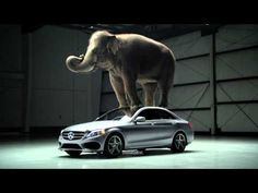 "Another creative #Mercedes commercial from 2015. ""The coiche"" campaign."
