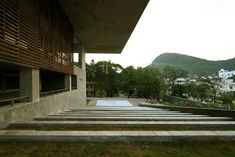 School of Planning and Architecture, Vijayawada - Mobile Offices Education Architecture, School Architecture, Architecture Design, Contemporary Design, Modern Design, Mobile Office, College Campus, School Design, Stairs