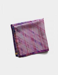 Pañuelo de bolsillo en tonos rosa | Viva La Woolf