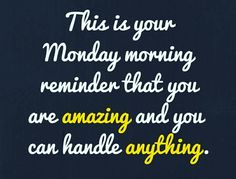 This is your monday morning motivation! Monday Morning Motivation, Monday Motivation Quotes, Work Motivation, Motivation Inspiration, Employee Motivation Quotes, Monday Sayings, Monday Morning Humor, Happy Monday Quotes, Good Monday Morning