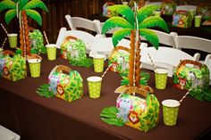 Monkey Themed Jungle Birthday Party - Spaceships and Laser Beams