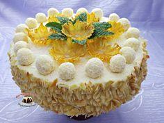 Tort kokosowy Tiramisu, Camembert Cheese, Cheesecake, Baking, Ethnic Recipes, Food, Cheesecakes, Bakken, Essen