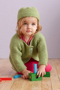 your kid'll instantly get ruddy cheeks when this sweater goes on!