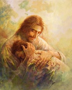 Principles of Jesus Christ: Christ understands our deepest pains personally, and can comfort and lift us Christian Images, Christian Art, Site Art, Image Jesus, Pictures Of Jesus Christ, Pictures Of God, Images Instagram, Jesus Painting, Prophetic Art