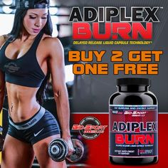 Buy 2 get 1 free: Adiplex, Bio-Sport's first weight loss and energy product developed in Delayed Release Liquid Capsule format. http://suppz.com/stack-of-3-biosport-adiplex-energy.html