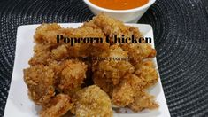 Popcorn Chicken for a Party Finger Foods, Popcorn, Balls, Corner, Make It Yourself, Chicken, Baking, Ethnic Recipes, Party