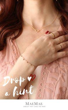 MaeMae Scorpio Zodiac Pendant Necklace 14k Gold Filled Dainty Chain 18