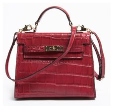 Mini fashion genuine leather CROCO women shoulder bags quality fashion handbags guangzhou, name brand handbags wholesale