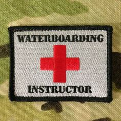 $6.00 waterboarding instructor patch