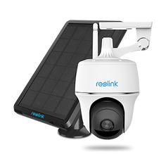 Reolink Argus PT WLAN Überwachungskamera mit Akku, 1080p FullHD, SD Slot, hervorragende Nachtsicht bis 30m √ Gratis Versand√