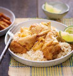Poulet fermer Label Rouge façon yassa / Recette / Chicken recipe