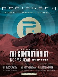 PERIPHERY Announce Spring 2017 Tour with THE CONTORTIONIST, NORMA JEAN