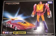 Transformer Masterpiece MP-28 Cybertron Cavalier Hot Rodimus G1 Action Figures #Hasbro