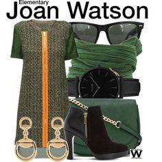 Inspired by Lucy Liu as Joan Watson on Elementary