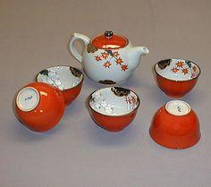 servizio thè ceramica Giapponese #itesoricoloniali #reggioemilia #ceramica #casa #arredamento #design
